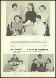 Page 10, 1957 Edition, Gibraltar High School - Viking Yearbook (Fish Creek, WI) online yearbook collection