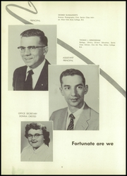 Page 12, 1957 Edition, Gibraltar High School - Viking Yearbook (Fish Creek, WI) online yearbook collection