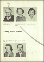 Page 14, 1957 Edition, Gibraltar High School - Viking Yearbook (Fish Creek, WI) online yearbook collection
