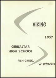Page 5, 1957 Edition, Gibraltar High School - Viking Yearbook (Fish Creek, WI) online yearbook collection