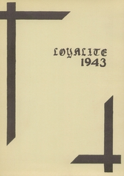 Page 3, 1943 Edition, Loyal High School - Loyalite Yearbook (Loyal, WI) online yearbook collection