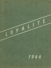 Page 1, 1944 Edition, Loyal High School - Loyalite Yearbook (Loyal, WI) online yearbook collection