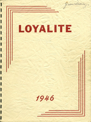 Loyal High School - Loyalite Yearbook (Loyal, WI) online yearbook collection, 1946 Edition, Page 1