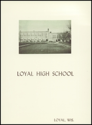 Page 5, 1953 Edition, Loyal High School - Loyalite Yearbook (Loyal, WI) online yearbook collection
