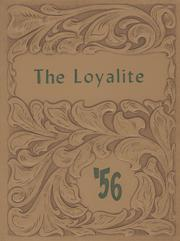 Page 1, 1956 Edition, Loyal High School - Loyalite Yearbook (Loyal, WI) online yearbook collection