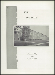 Page 5, 1956 Edition, Loyal High School - Loyalite Yearbook (Loyal, WI) online yearbook collection
