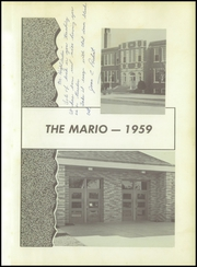 Page 5, 1959 Edition, Marion High School - Mario Yearbook (Marion, WI) online yearbook collection
