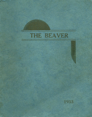 1933 Edition, Augusta High School - Beaver Yearbook (Augusta, WI)