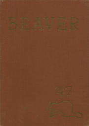 1947 Edition, Augusta High School - Beaver Yearbook (Augusta, WI)