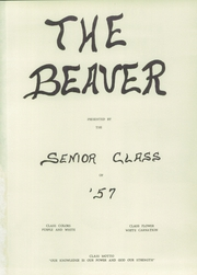 Page 5, 1957 Edition, Augusta High School - Beaver Yearbook (Augusta, WI) online yearbook collection