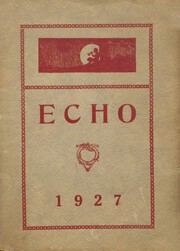 Page 1, 1927 Edition, Clear Lake High School - Echo Yearbook (Clear Lake, WI) online yearbook collection