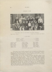 Page 12, 1927 Edition, Clear Lake High School - Echo Yearbook (Clear Lake, WI) online yearbook collection