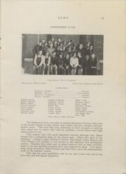 Page 13, 1927 Edition, Clear Lake High School - Echo Yearbook (Clear Lake, WI) online yearbook collection