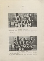 Page 16, 1927 Edition, Clear Lake High School - Echo Yearbook (Clear Lake, WI) online yearbook collection