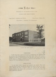 Page 3, 1927 Edition, Clear Lake High School - Echo Yearbook (Clear Lake, WI) online yearbook collection