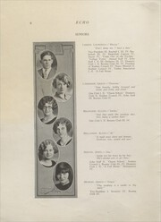 Page 8, 1927 Edition, Clear Lake High School - Echo Yearbook (Clear Lake, WI) online yearbook collection