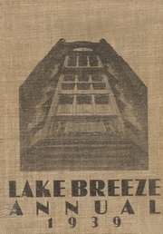 Page 1, 1939 Edition, Central High School - Lake Breeze Yearbook (Sheboygan, WI) online yearbook collection