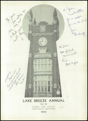 Page 5, 1951 Edition, Central High School - Lake Breeze Yearbook (Sheboygan, WI) online yearbook collection