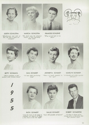 Page 57, 1955 Edition, Central High School - Lake Breeze Yearbook (Sheboygan, WI) online yearbook collection