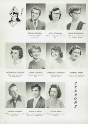 Page 58, 1955 Edition, Central High School - Lake Breeze Yearbook (Sheboygan, WI) online yearbook collection