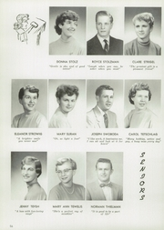 Page 60, 1955 Edition, Central High School - Lake Breeze Yearbook (Sheboygan, WI) online yearbook collection