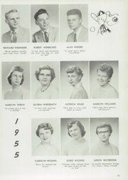 Page 63, 1955 Edition, Central High School - Lake Breeze Yearbook (Sheboygan, WI) online yearbook collection