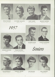 Page 13, 1957 Edition, Central High School - Lake Breeze Yearbook (Sheboygan, WI) online yearbook collection