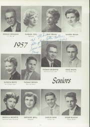 Page 15, 1957 Edition, Central High School - Lake Breeze Yearbook (Sheboygan, WI) online yearbook collection