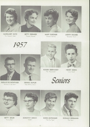 Page 17, 1957 Edition, Central High School - Lake Breeze Yearbook (Sheboygan, WI) online yearbook collection