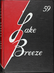 1959 Edition, Central High School - Lake Breeze Yearbook (Sheboygan, WI)