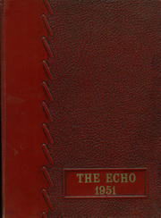 1951 Edition, Bangor High School - Echo Yearbook (Bangor, WI)