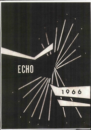 1966 Edition, Bangor High School - Echo Yearbook (Bangor, WI)