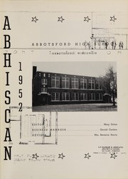 Page 5, 1952 Edition, Abbotsford High School - Abhiscan Yearbook (Abbotsford, WI) online yearbook collection