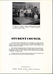 Page 10, 1956 Edition, Rosholt High School - Hornet Yearbook (Rosholt, WI) online yearbook collection