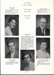 Page 13, 1956 Edition, Rosholt High School - Hornet Yearbook (Rosholt, WI) online yearbook collection