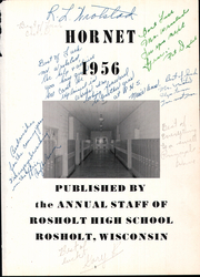 Page 5, 1956 Edition, Rosholt High School - Hornet Yearbook (Rosholt, WI) online yearbook collection