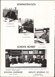 Page 9, 1966 Edition, Rosholt High School - Hornet Yearbook (Rosholt, WI) online yearbook collection