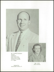 Page 10, 1957 Edition, Belleville High School - Oracle Yearbook (Belleville, WI) online yearbook collection