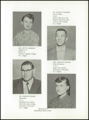 Page 11, 1957 Edition, Belleville High School - Oracle Yearbook (Belleville, WI) online yearbook collection