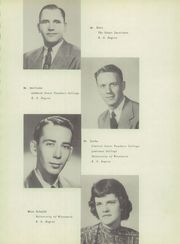 Page 15, 1949 Edition, John Edwards High School - Papyrus Yearbook (Port Edwards, WI) online yearbook collection