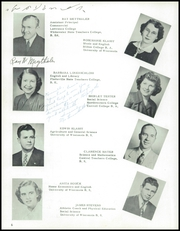 Page 10, 1952 Edition, New Glarus High School - Glarian Yearbook (New Glarus, WI) online yearbook collection