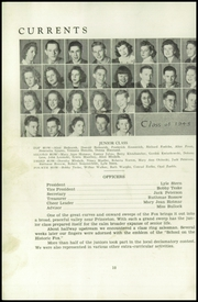 Page 12, 1942 Edition, Princeton High School - Triangle Yearbook (Princeton, WI) online yearbook collection