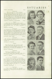 Page 9, 1942 Edition, Princeton High School - Triangle Yearbook (Princeton, WI) online yearbook collection