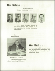 Page 6, 1959 Edition, Princeton High School - Triangle Yearbook (Princeton, WI) online yearbook collection