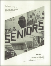 Page 9, 1959 Edition, Princeton High School - Triangle Yearbook (Princeton, WI) online yearbook collection