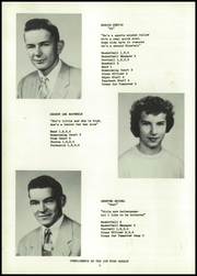 Page 16, 1957 Edition, Pembine High School - Sapling Yearbook (Pembine, WI) online yearbook collection