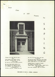 Page 5, 1957 Edition, Pembine High School - Sapling Yearbook (Pembine, WI) online yearbook collection