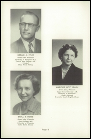 Page 12, 1953 Edition, Green Lake High School - Lac Verd Yearbook (Green Lake, WI) online yearbook collection