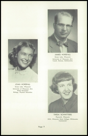 Page 13, 1953 Edition, Green Lake High School - Lac Verd Yearbook (Green Lake, WI) online yearbook collection