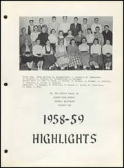 Page 7, 1959 Edition, Albany High School - Comet / Winnetkan Yearbook (Albany, WI) online yearbook collection